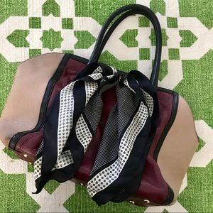 Furla Olimpia Color Blocked Bag Tote